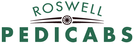 roswell pedicabs logo